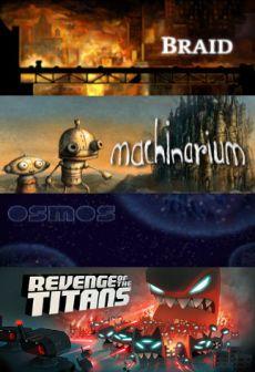 Get Free Braid + Machinarium + Osmos + Revenge of The Titans