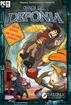 Get Free Chaos on Deponia