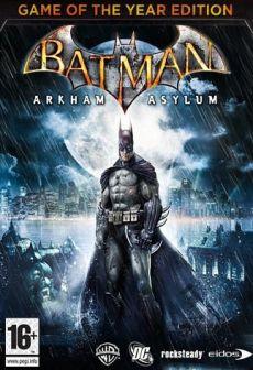 Get Free Batman: Arkham Asylum GOTY
