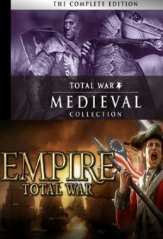 Get Free Empire: Total War Collection + Medieval: Total War Collection