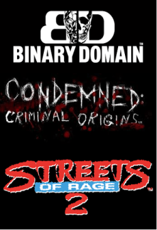 Get Free Binary Domain + Condemned: Criminal Origins + Streets of Rage 2