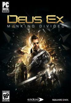Get Free Deus Ex: Mankind Divided Day 1 Edition