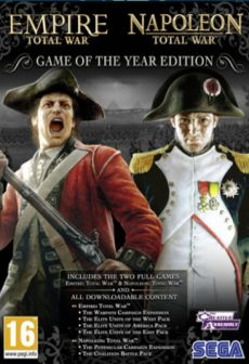 Get Free Empire and Napoleon: Total War GOTY