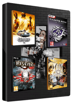 Get Free Saints Row 2 + Saints Row: The Third + Risen 2: Dark Waters + Sacred 2: Gold BUNDLE