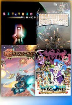 Get Free BIT.TRIP RUNNER + Gratuitous Space Battles + Jamestown + Wizorb CD