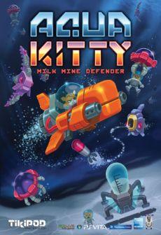 Get Free Aqua Kitty - Milk Mine Defender