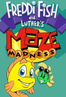 Get Free Freddi Fish and Luther's Maze Madness