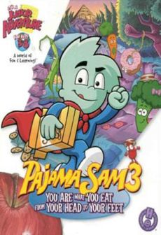 Get Free Pajama Sam 3: You Are What You Eat From Your Head To Your Feet