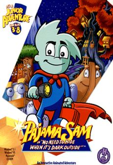 Get Free Pajama Sam in No Need to Hide When It's Dark Outside