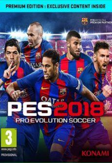 Get Free Pro Evolution Soccer 2018 Premium Edition