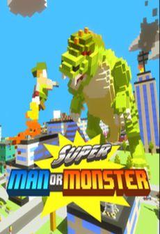 Get Free Super Man Or Monster