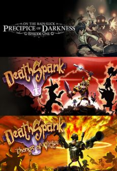Get Free DeathSpank Thongs Of Virtue + DeathSpank + Precipice of Darkness Episode One