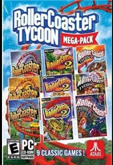 Get Free RollerCoaster Tycoon Mega Pack