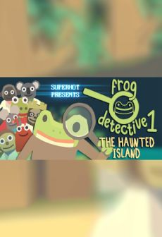 Get Free The Haunted Island, a Frog Detective Game