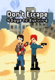 Get Free Don't Escape: 4 Days to Survive