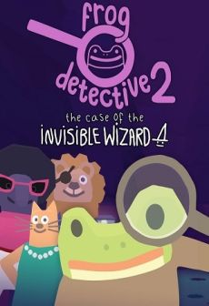 Get Free Frog Detective 2: The Case of the Invisible Wizard